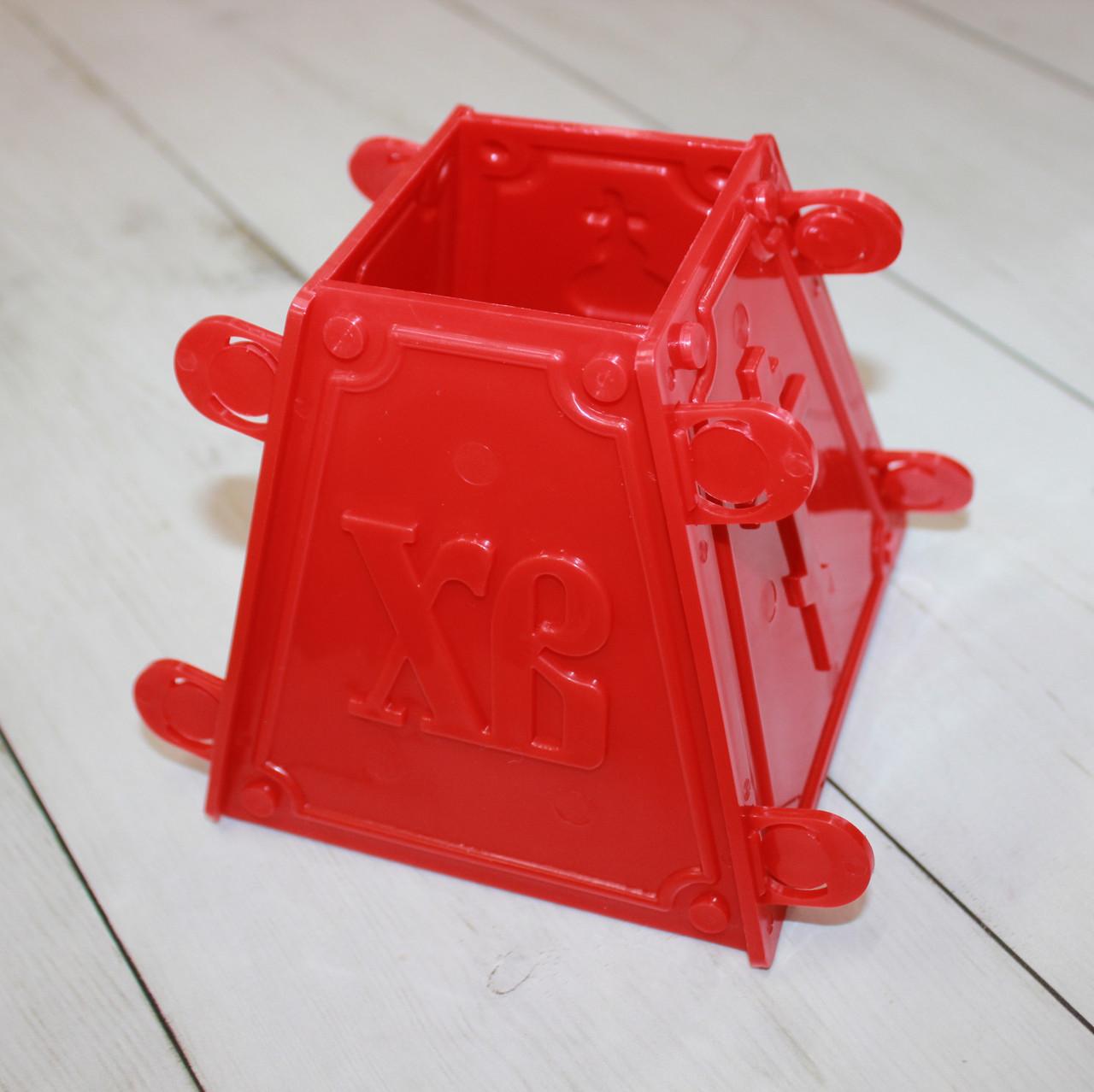 Пасочница пластиковая из 4-х частей для творожной пасхи