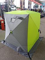 Палатка зимняя утепленная Куб 1,5*1,5 PREMIER / 86983 T