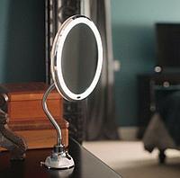 Гибкое зеркало для макияжа с Led подсветкой Flexible