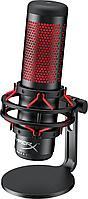 Настольный микрофон HyperX Quadcast на подставке