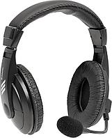 Наушники-гарнитура проводные Defender Gryphon 750 черный