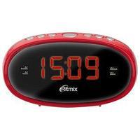 Радиочасы Ritmix RRC-616 red
