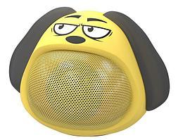 Компактная акустика Ritmix ST-111BT Puppy желтый