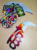 Нож кастет - сувенир из дерева (ручная работа)#made in KZ, фото 1