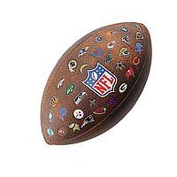 Мяч для регби Wilson NFL Off Throwback 32 Team Logo