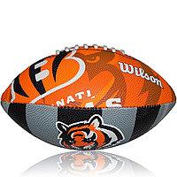 Мяч для американского футбола Wilson NFL Jr Team Logo