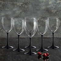 """Набор фужеров для вина 350 мл """"Домино"""", 6 шт"""