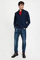 Джинсы мужские Finn Flare, цвет темно-синий, размер W32L36