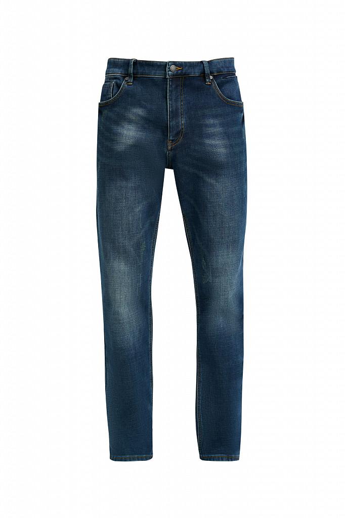Джинсы мужские Finn Flare, цвет темно-синий, размер W36L36 - фото 7