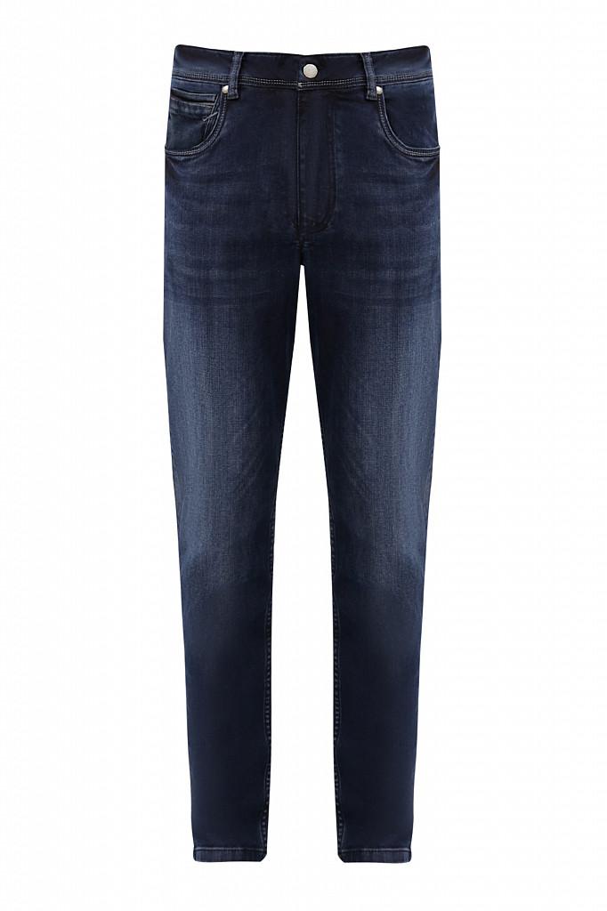 Джинсы мужские Finn Flare, цвет темно-синий, размер W36L36 - фото 6
