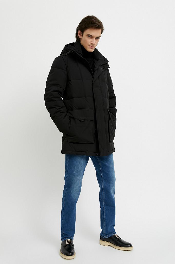 Джинсы мужские Finn Flare, цвет синий, размер W34L36 - фото 1