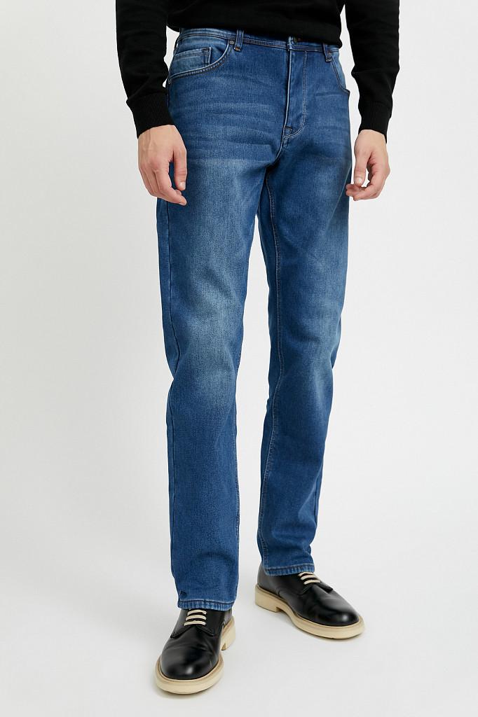 Джинсы мужские Finn Flare, цвет синий, размер W34L36 - фото 2