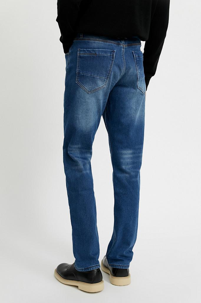 Джинсы мужские Finn Flare, цвет синий, размер W34L36 - фото 6