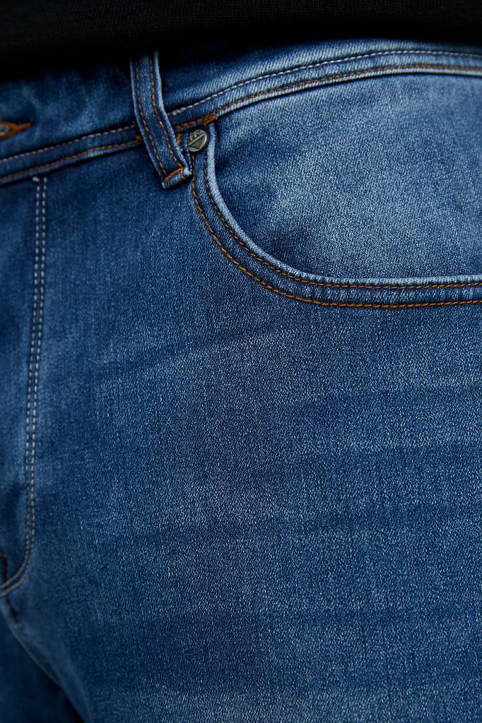 Джинсы мужские Finn Flare, цвет синий, размер W34L36 - фото 7