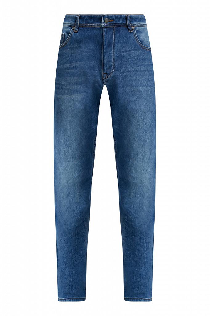 Джинсы мужские Finn Flare, цвет синий, размер W36L36 - фото 8
