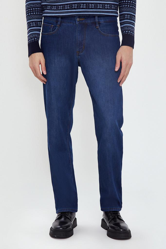Джинсы мужские Finn Flare, цвет синий, размер W36L36 - фото 2