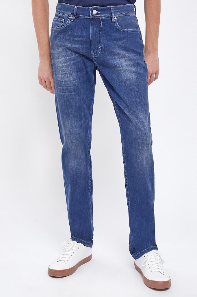 Джинсы мужские Finn Flare, цвет темно-синий, размер W34L36 - фото 2