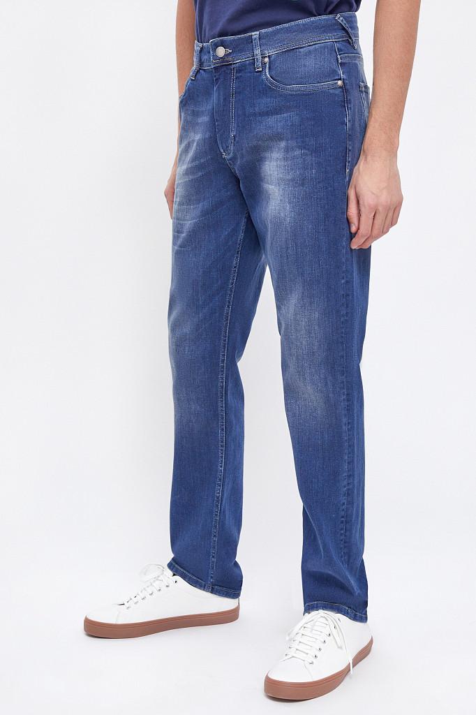 Джинсы мужские Finn Flare, цвет темно-синий, размер W34L36 - фото 3