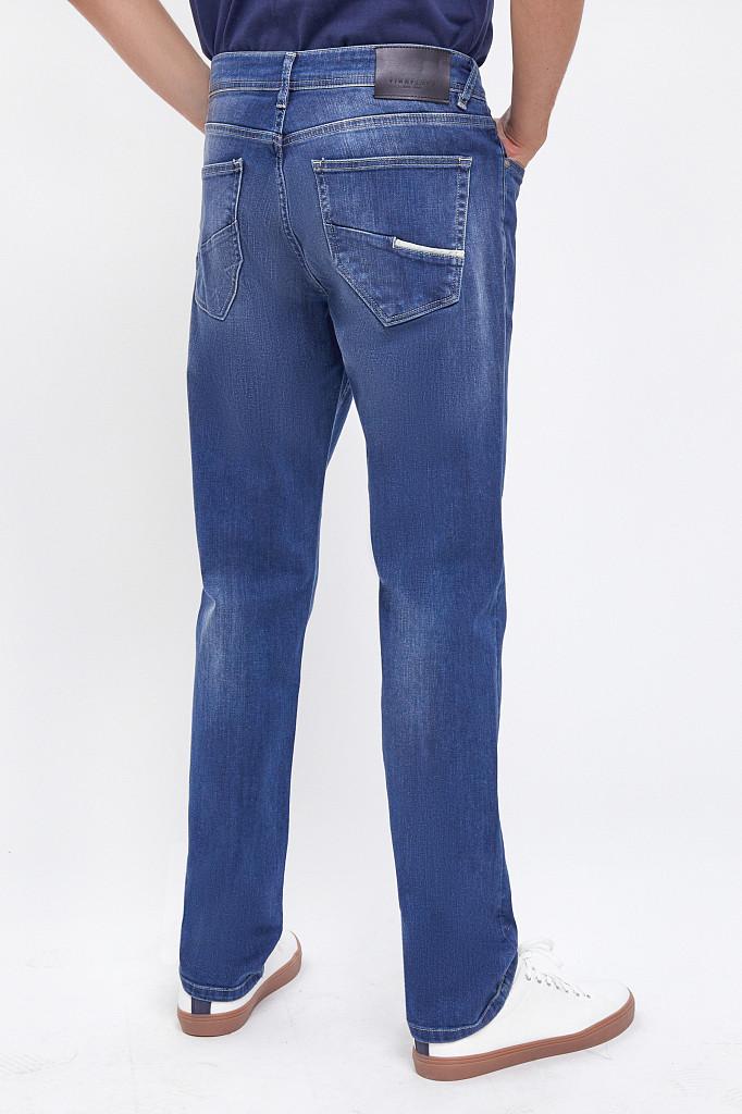 Джинсы мужские Finn Flare, цвет темно-синий, размер W34L36 - фото 4