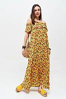 Женское летнее хлопковое платье Lyushe 2645 44р.