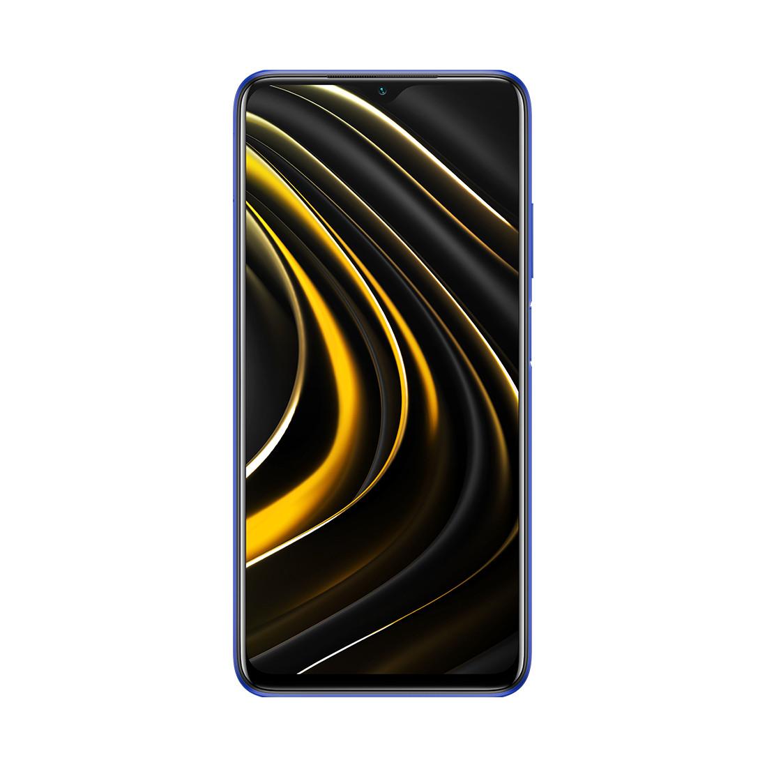 Мобильный телефон Poco M3 128GB Cool Blue - фото 1