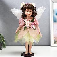 """Кукла коллекционная керамика """"Малышка - лесная фея"""" 45 см"""