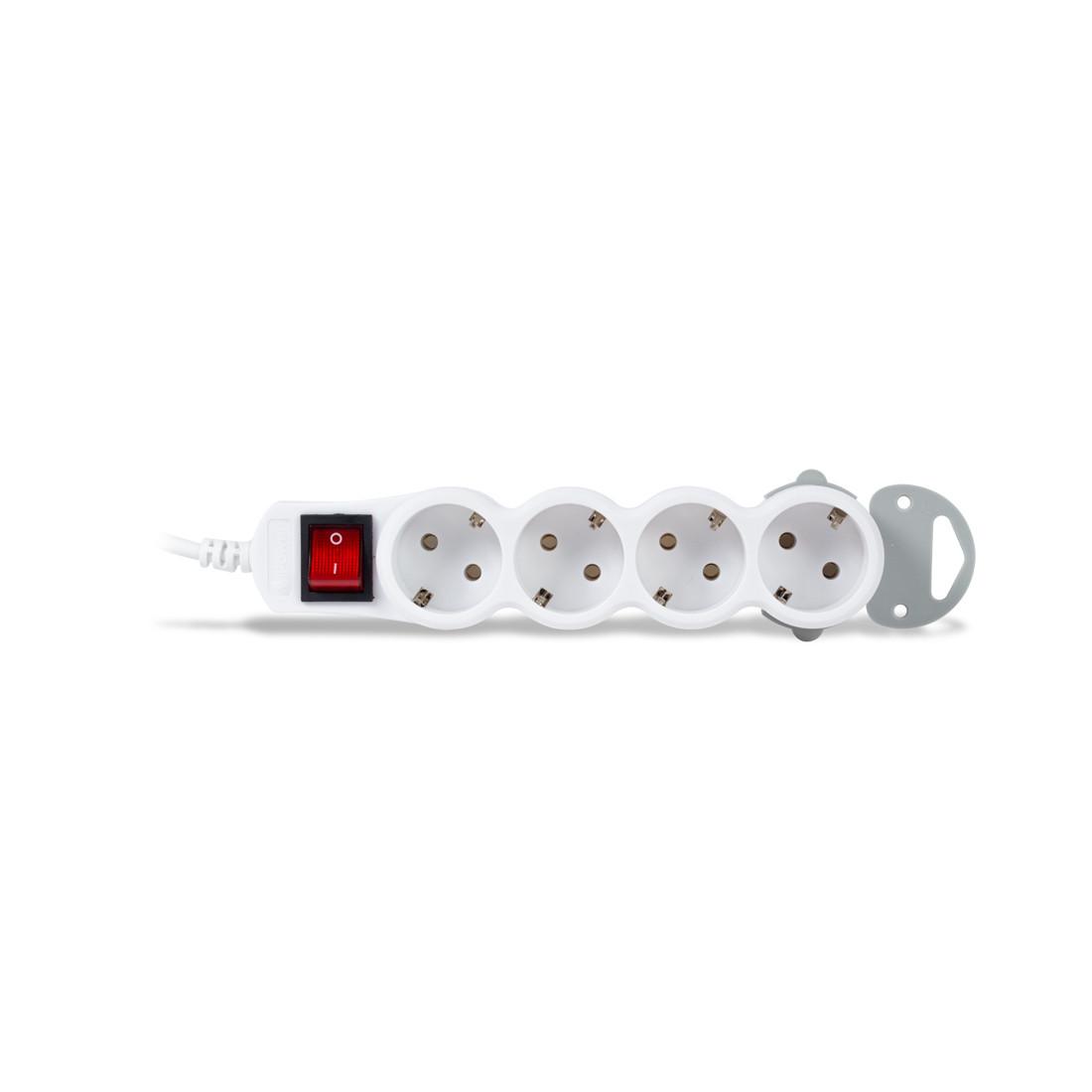 Сетевой фильтр iPower Home W4-50M 4 розеток 5 метров 220-240V 10A Белый