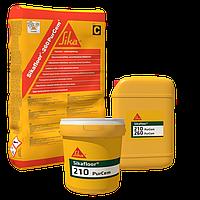 Самовыравнивающееся полиуретан-цементное глянцевое покрытие Sikafloor®-210 PurCem®
