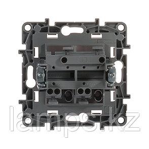 Выключатель двухклавишный - Etika - 10 A - 250 В~ - белый, фото 2