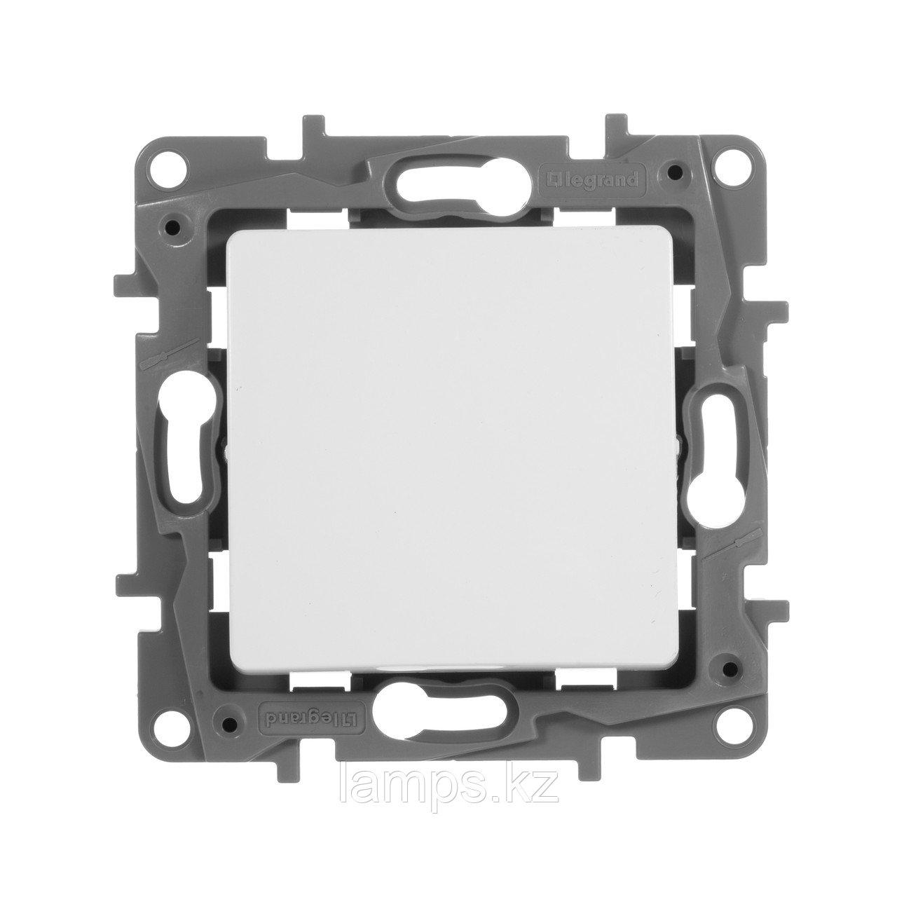 Переключатель одноклавишный - Etika - 10 A - 250 В~ - белый