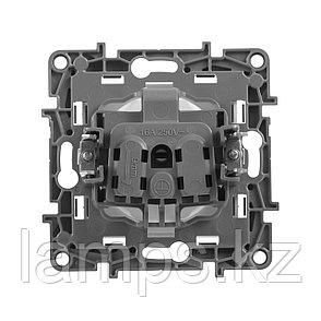 Розетка 2К - немецкий стандарт - 16 А - 250 В~ - Etika - белый, фото 2
