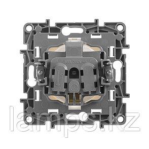 Розетка 2К+З - немецкий стандарт - 16 А - 250 В~ - Etika - белый, фото 2