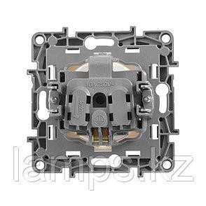 Розетка 2К+З со шторками - немецкий стандарт - 16 А - 250 В~ - Etika - белый, фото 2
