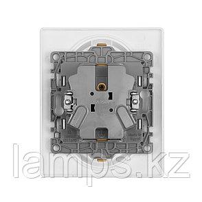 Розетка 2 x 2К+З - немецкий стандарт - 16 А - 250 В~ - Etika - белый, фото 2