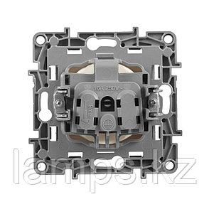 Розетка 2К - немецкий стандарт - 16 А - 250 В~ - Etika - слоновая кость, фото 2