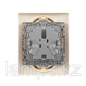 Розетка 2 x 2К+З - немецкий стандарт - 16 А - 250 В~ - Etika - слоновая кость, фото 2