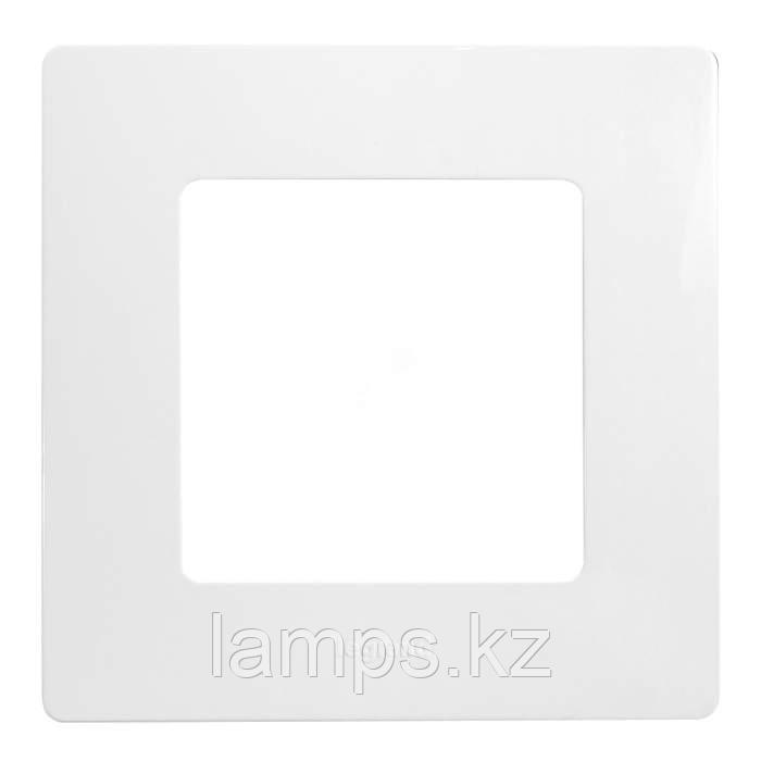Рамка - 1 пост - Etika - белый