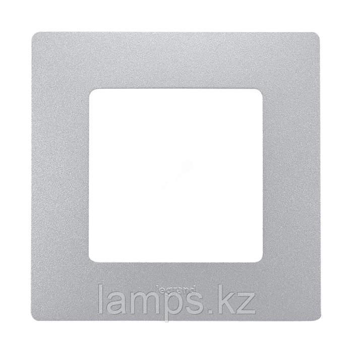 Рамка - 1 пост - Etika - алюминий