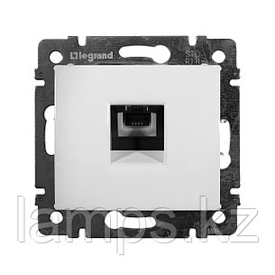 Телефонная розетка - Valena - RJ11 - 4 контакта - 1 выход - White, фото 2