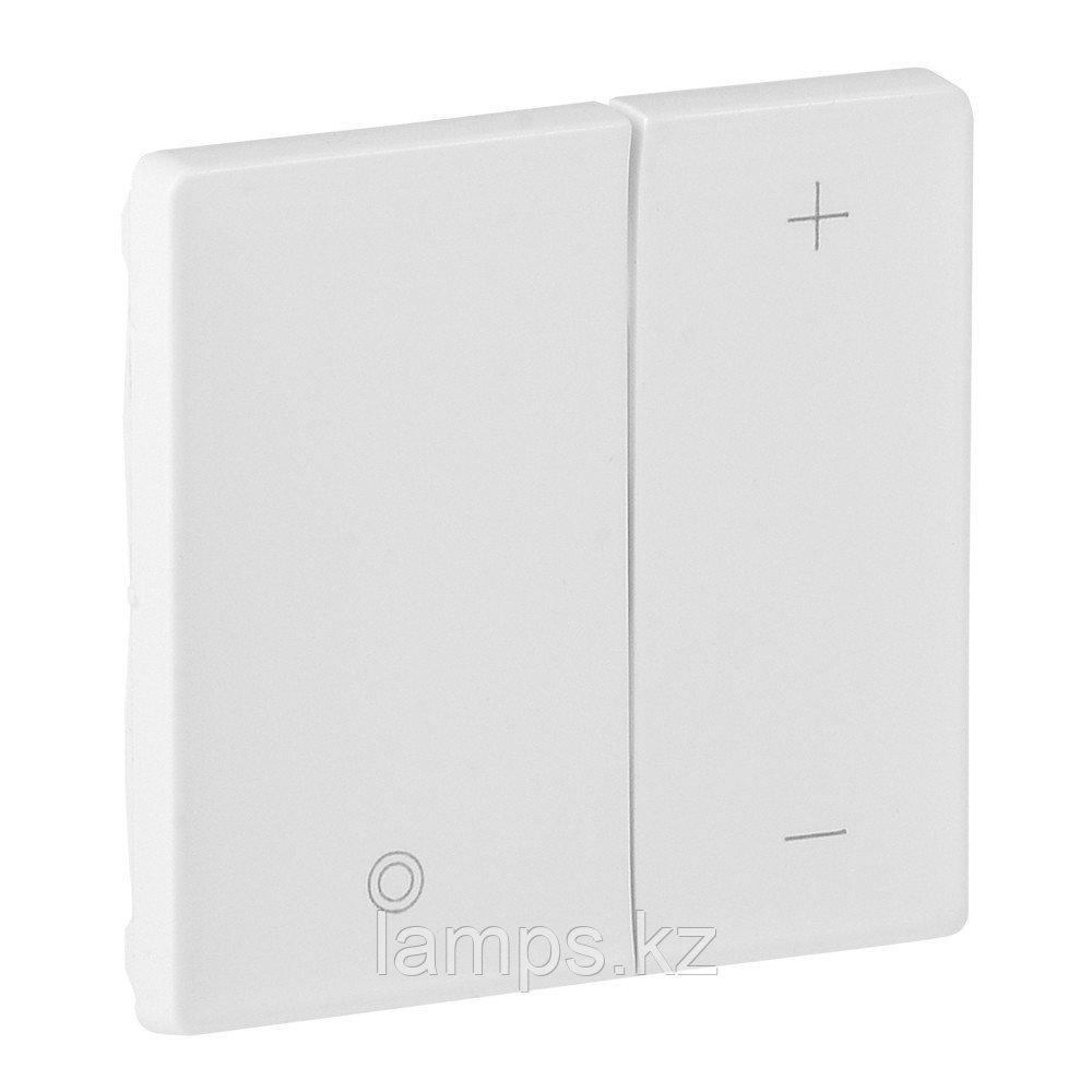 Valena LIFE.Лицевая панель для кнопочного светорегулятора.Белая