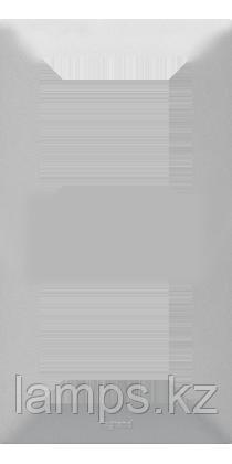 """Valena LIFE.Рамка """"Алюминий"""".2-постовая универсальная, фото 2"""
