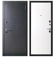 Дверь входная металлическая Ferroni Гарда 75 Муар/Белый Ясень