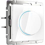 Диммер с подсветкой (белый) WL01-DM600-LED, Werkel