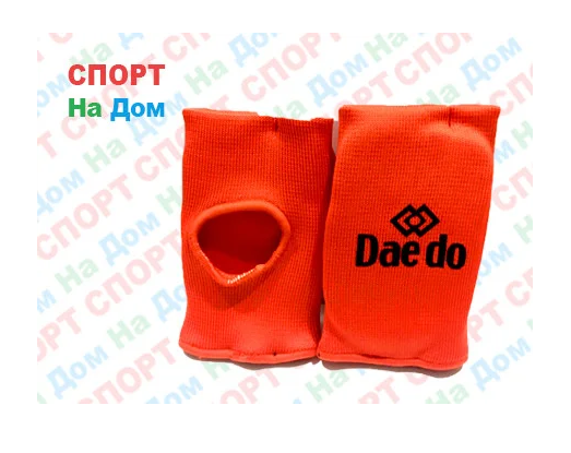 Накладки на руки для каратэ и джиу джитсу (красный) Размер M