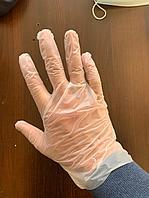 Виниловые перчатки S, M с документами