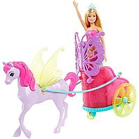 Barbie Сказочная карета Барби GJK53