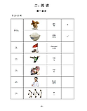 Официальные экзаменационные билеты к экзамену YCT 2012 года. Уровень 1, фото 2