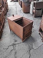 Печь отопления под пол чугунной плиты 140 кв/м