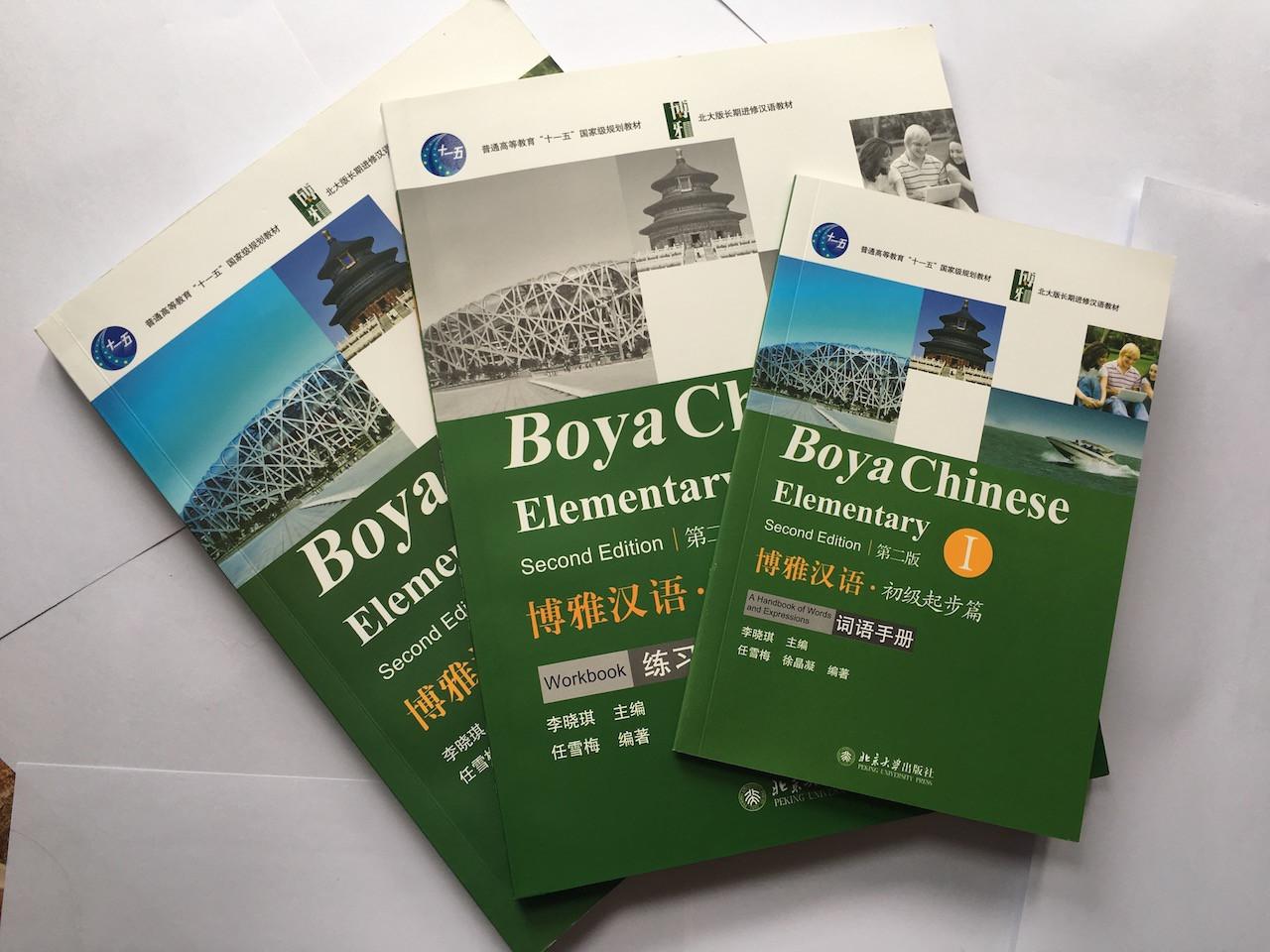 Boya Chinese. Комлект из 3-х книг. Учебник + Рабочая тетрадь + Словарик. Часть 1