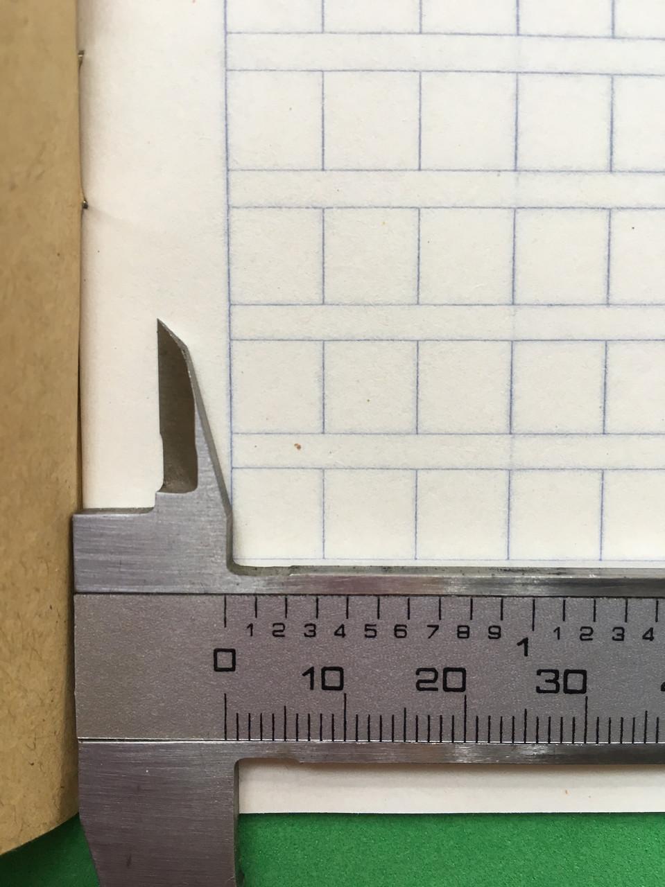 Тетрадь для написания иероглифов. Клетка 7 мм с полем для пиньинь и полем для заметок. 9520 клеток